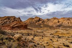 Öken Canyonland av den Utah öknen royaltyfri bild
