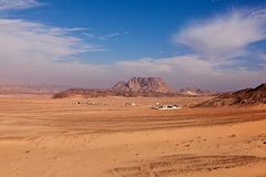 öken egypt Royaltyfri Fotografi
