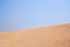 Öken eller Sahara Arkivbilder