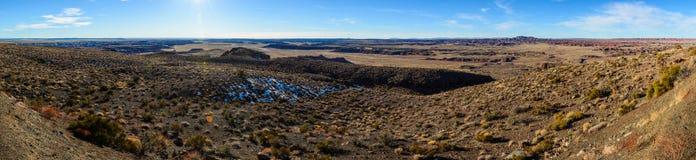 Öken i Arizona Arkivfoton