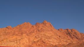 Öken i Egypten, sand och berg stock video