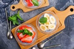 Öken med frukt Royaltyfri Foto