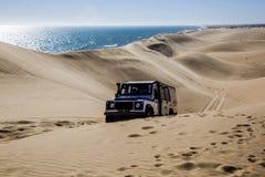 öken namibia Arkivfoto