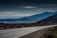 Öken Road Arkivbilder