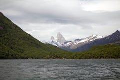 Öken sjö, Argentina Royaltyfri Foto