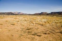 öken sydliga utah Royaltyfri Fotografi
