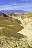 ÖkenBadlandslandskap, Death Valley, nationalpark Arkivfoto