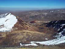 Ökenberg av den bolivianska altiplanoen Royaltyfri Foto
