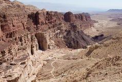 Ökenberg och klippor Arkivbilder