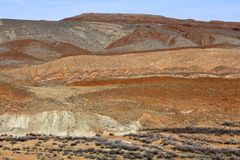 Ökenfärger, Utah arkivbilder