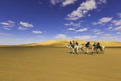 Ökenghat Libyen Royaltyfri Bild