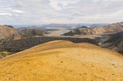 ökeniceland lava Royaltyfri Fotografi
