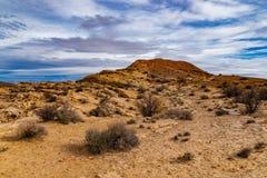 Ökenkullar av den Utah öknen arkivbild