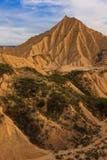 Ökenlandskap Arkivfoton