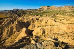 Ökenlandskap av Navarra Royaltyfri Foto