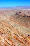 Ökenmiljö Nevada royaltyfria bilder