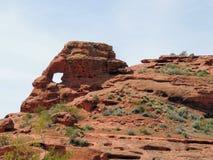 Ökenpanoramautsikter från att fotvandra skuggar runt om St George Utah runt om Beck Hill, Chuckwalla, sköldpaddaväggen, paradiska Royaltyfria Bilder