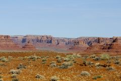 Ökenplats, Utah royaltyfri fotografi