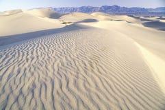 Ökensand, Death Valley, Kalifornien Royaltyfri Fotografi