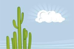 ökenvektor stock illustrationer