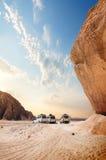Öknar av Egypten, Afrika arkivbilder