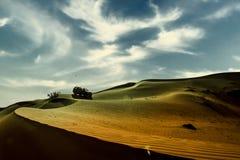 Öknar Dubai arkivbild