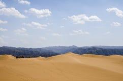 Öknar och berg royaltyfri foto