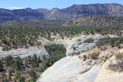 Öknar och berg, Utah royaltyfri foto