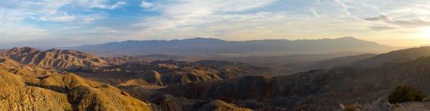 öknen inramninde horisontal den viewable panorama- sköt sikten för ligganden nr Royaltyfri Foto