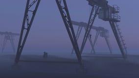 Öko-Katastrophe Lizenzfreies Stockfoto