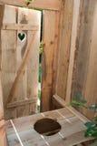 Öko-Toilette Stockfoto