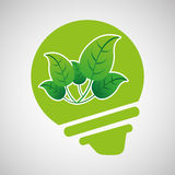 Ökologie eco Naturschutzbirne Lizenzfreie Stockfotografie