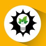 Ökologie eco Naturschutzbirne Lizenzfreie Stockfotos