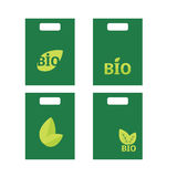 Ökologie, organischer Ikonensatz. Öko-Ikonen Stockbilder