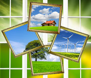 Ökologie-Planet Lizenzfreie Stockfotografie