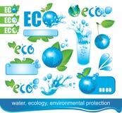 Ökologie und die Umgebung stock abbildung