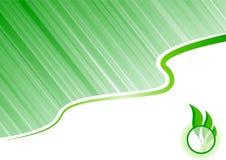 Ökologiehintergrund stock abbildung