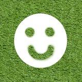 Ökologiekonzept - denken Sie Positiv stockbild
