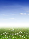 Ökologielandschaft lizenzfreie stockbilder