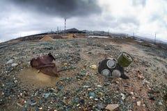 Ökologieverschmutzung lizenzfreies stockfoto