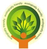 Ökologisch freundlich lizenzfreie abbildung