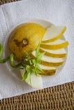 Ökologisch reine Melone lizenzfreie stockfotografie