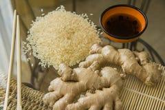 Ökologisch reiner Reis stockbilder