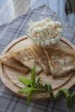 Ökologisch reines Frühstück stockfoto