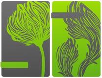 Ökologisch themenorientierte Blumenauslegung. vektor abbildung