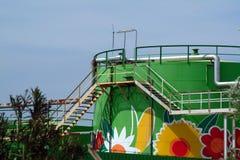Ökologische Ablagerung Stockbild