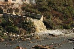 Ökologische Probleme Stockbild