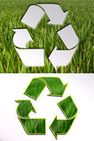 Ökologische Zeichen Stockbilder