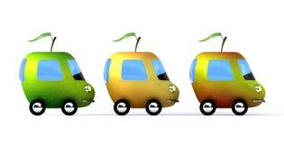 Ökologischer Transport Stockbild