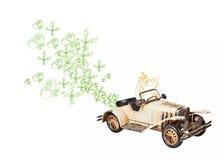 Ökologisches Auto Stockfotos